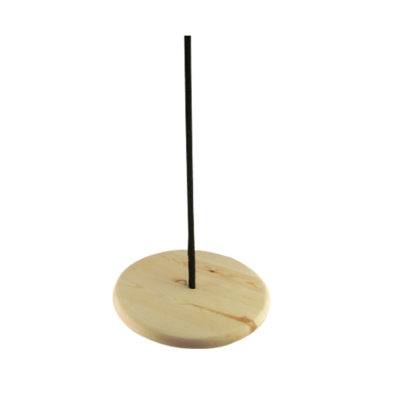 wood disc swing for trees
