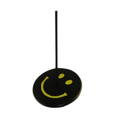 black and yellow smiley face tree swing combo for kids