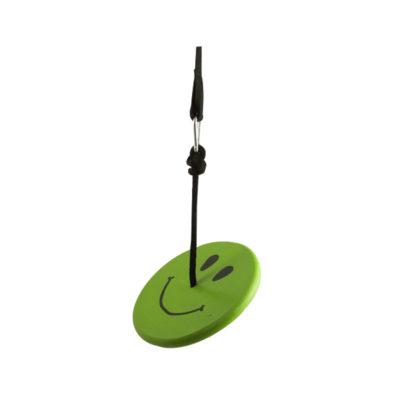 green smiley face swing kit