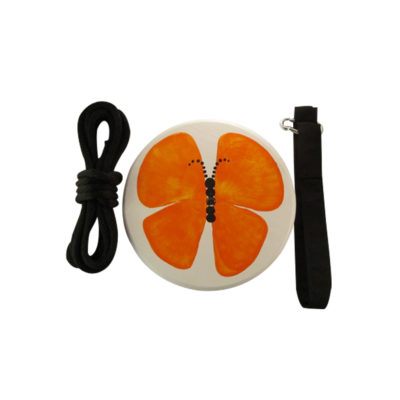 orange butterfly tree swing kit for kids