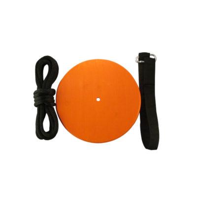 Kids orange tree swing kit