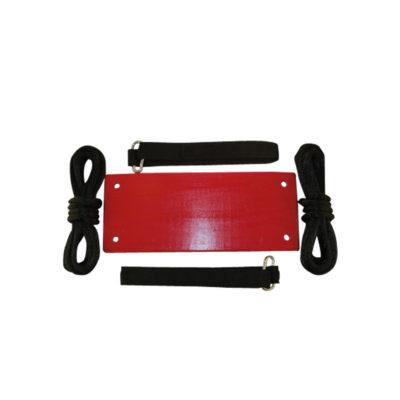 tree swing kit for kids - red