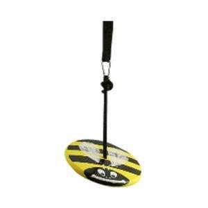 Yellow Bumble Bee Wood Disc Swing Kit