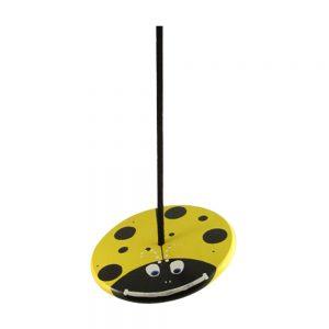 Yellow Lady Bug Wood Disc Swing Combo