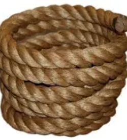 Brown Tree Swing Rope 50 ft