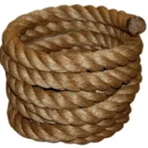 50′ Brown Tree Swing Rope
