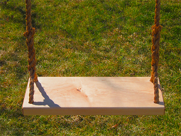 Oak tree swings for adults