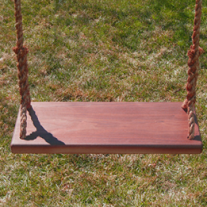Walnut Adult Tree Swing Combo