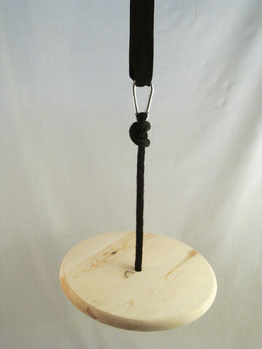 wood disc swing