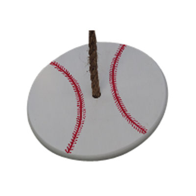Baseball tree swing for kids