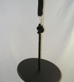 black wood disc swing kit