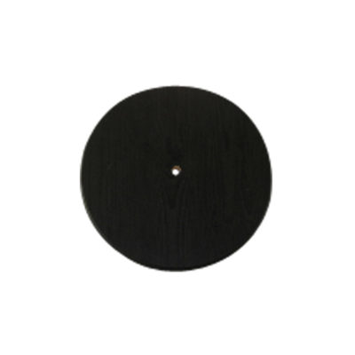 black wood disc swing seat