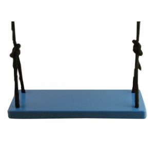 Blue Classic Adult Wood Tree Swing Combo