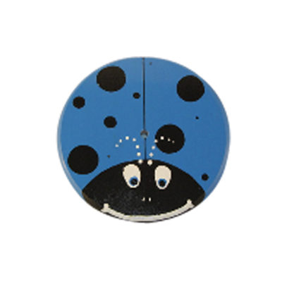 blue lady bug wood tree swing for kids