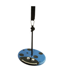 blue lady bug tree swing for kids