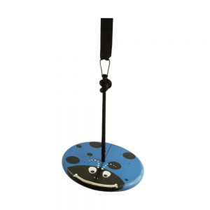 Blue Lady Bug Wood Disc Swing Kit