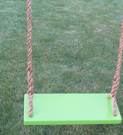 green classic tree swings for adults