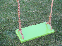 Green Classic Kids Tree Swing