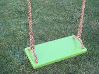 Green Classic Kids Tree Swing