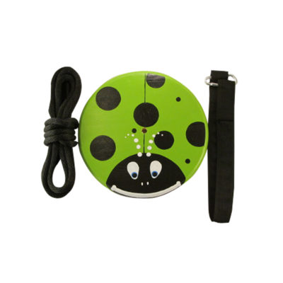 tree swing kit for children - green lady bug
