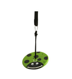 tree swings for kids - green lady bug kit