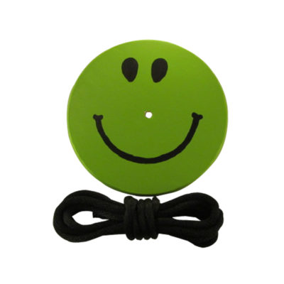 green smiley tree swing for kids