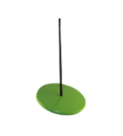 green kids tree swing - round