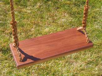 Walnut Kids Tree Swing