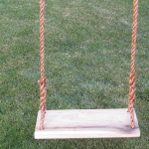 Classic Adult Wood Tree Swing Combo