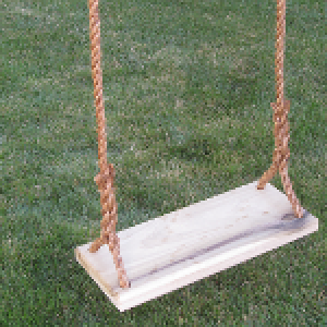 Classic Kids Wood Tree Swing Combo