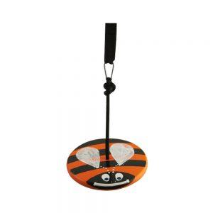 Orange Bumble Bee Wood Disc Swing kit