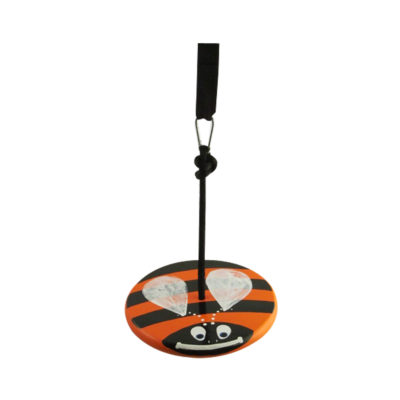 tree swing for kids - orange bumble bee kit