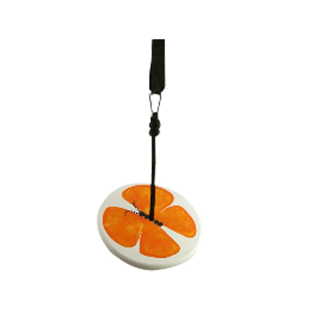 tree swing for children - orange butterfly kit