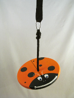 ladybug swing for kids