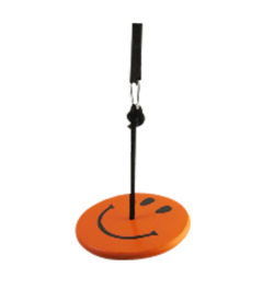 Kids tree swing - orange smiley kit