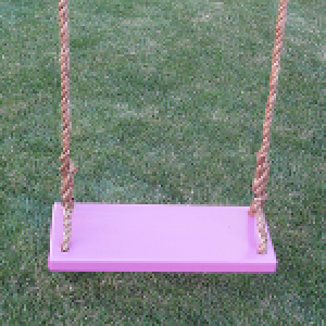 Purple Classic Adult Wood Tree Swing Combo