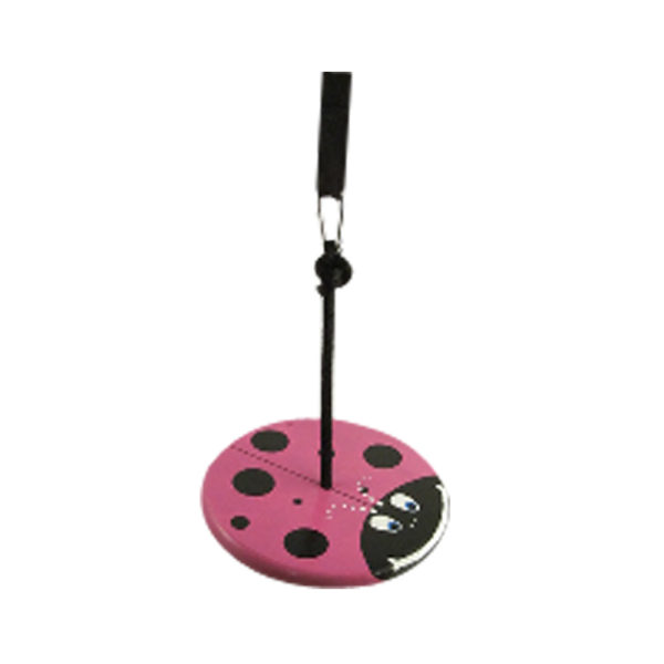 kids tree swings - purple lady bug kit