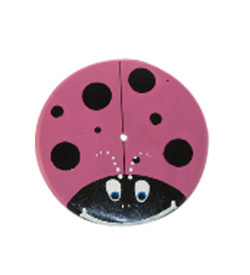 purple lady bug tree swing seat
