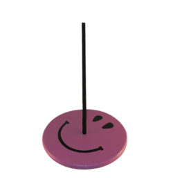 tree swings for kids - purple smiley face