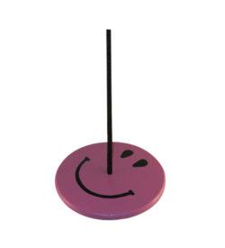 tree swings for kids - purple smiley face