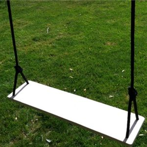 Classic Adult 2-Seater Wood Tree Swing Combo