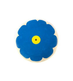 Kids tree swing - blue flower seat