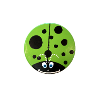 Green Lady Bug Kids Tree Swing