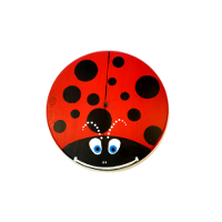 Kids Tree Swing - Red Lady Bug
