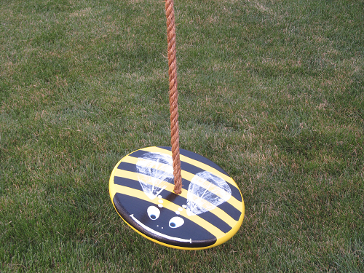 Kids Tree Swing - Yellow Bumble Bee