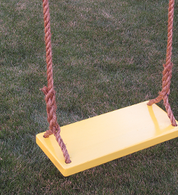 kids wood tree swing