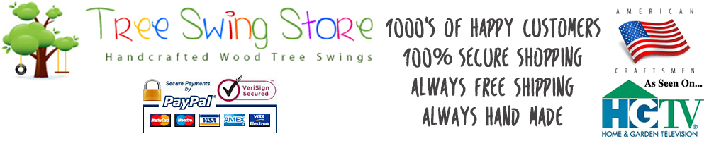 The Tree Swing Store - Buy Top Rated Tree Swings Online