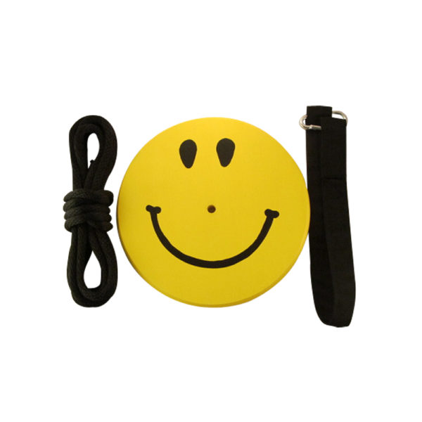 Smiley face tree swing for kids