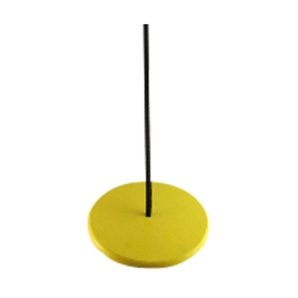 round yellow tree swing for kids