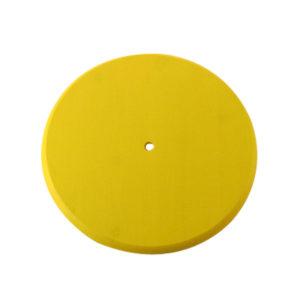 Yellow Wood Disc Swing Seat